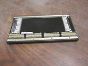 Bachmann Backplate Bs 204 4-slot F 024.000 Pw 18-2005 Used