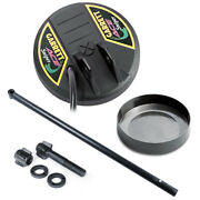 Garrett Ace Series 4.5and039and039 Sniper Search Coil W/ Cover Lower Rod And Hardware