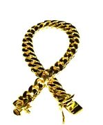 10k Solid Yellow Gold Miami Cuban Curb Link Mens Bracelet 10 Inch 38 Grams 8mm