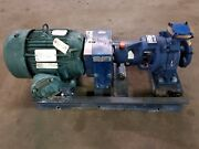 Gorman-rupp Centrifugal Pump Vg1 1/4b3-b 1-1/4x2 -6 8 Gpm @ 165and039 Tdh 10 Hp