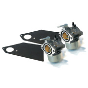2 New Carburetor Carbs For Briggs And Stratton Simplicity Snapper 690111 690115