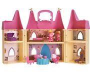Peppa Pig Playset Home Family Girl Doll Princes Peppa's Toy House Furniture Room