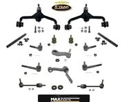 Town Car 95-97 14pc Chassis Kit Control Arms Bushings Ball Joints Tie Rods