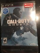 Ps3 Call Of Duty Ghosts Hardened Edition New Sealed Sony Playstation 3 2013