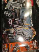 Lego Technic 2-in-1 Logging Truck 9397 Brand New In Dented Damaged Sealed Box