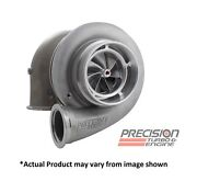 Precision Turbo Hp Cover Cea Billet 6766 Journal Bearing Ss V Band .82 A/r