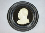 Beautiful Miniature In Wood Frame Erbach About 1900