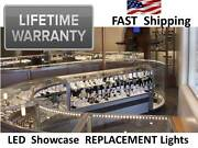 Jewelry Showcase Lighting Led For Replacement Bulbs 4 6 8 Foot Ft. Display Case