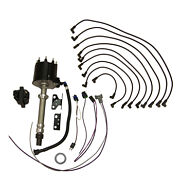 Ignition Distributor Kit Gm V8 Delco Est W/wires And Coil