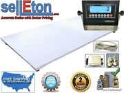 New 5and039 X 8and039 / 60 X 96 Industrial Floor Scale And Led Or Lcd Display 20k X 5lb