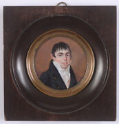 Constant Monnier Man With Earring Rare Miniature 1813
