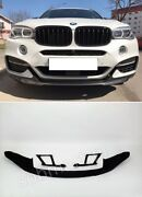 Bmw X6 F16 M-performance Front Bumper Spoiler Front Lips