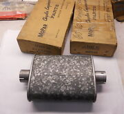 Nos Mopar 1960-1962 Chrysler 300 New Yorker 413 Front Mufflers Pair In The Boxes