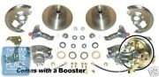 1967-69 Chevrolet Camaro Power Disc Brake Conversion Kit With Booster