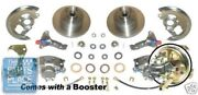 1964-72 Oldsmobile Cutlass Power Disc Brake Conversion With Booster