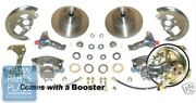 1964-72 Pontiac Gto Power Disc Brake Conversion With Booster