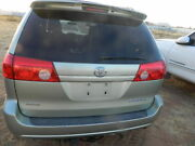 2004 2005 2006 2007 2008 2009 2010 Toyota Sienna Tailgate Hatch Trunk Lid Tail G