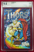 Thor 1 Pgx 9.8 Nm/mt Near Mint Cover Sketch By Doug Hazlewood And Steve Lydic