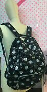 Sale Victoria's Secret Pink Polkadot Woman's Backpack+booties Bling Nwt,sequence