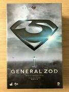 Hot Toys Mms 216 Man Of Steel Superman General Zod Michael Shannon Figure New