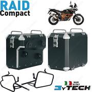 Suitcases Alu Compact 33+ 39 L And Frames Ktm 1050 Adventure Abs 2015-2016