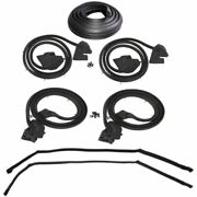 1969-1970 Buick And Oldsmobile 4dr Hardtop Weatherstrip Seal Kit New