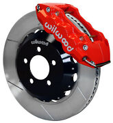Wilwood Disc Brake Kit,front,05-11 Charger,chrysler 300,14 Rotors,red Calipers