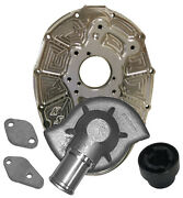 Kse Hpd Water Pump And Billet Alum Sbc Front Cover W/1short And 1long B-o,sprint Car