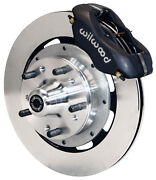 Wilwood Disc Brake Kit,front,71-80 Ford Pinto,12 Rotors,black Calipers