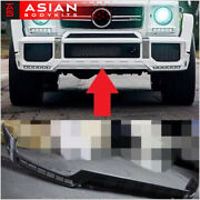 For Mercedes Benz W463 G Class Front Lip Spoiler With Led Drl B-style G63 G500