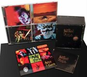 Alice In Chains - Music Bank Cd Box Set Vg++ Condition Plus 9 Aic Magnets