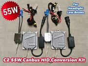 55w Low Beams 9005 Hb3 Canbus C21 Slim Xenon Hid Conversion For Jdm Gm Rover Jae