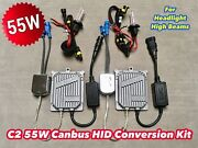 55w High Beams 9005 Hb3 Canbus C21 No Error Xenon Hid Kit For Fiat Jaguar E
