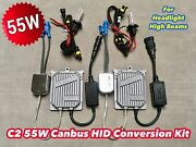 55w High Beams 9005 Hb3 Canbus C21 No Error Xenon Hid Kit For Buick Cadillac A