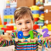 Digital Small Wooden Train Best Educational Set Of Trains With Fun And Colorful