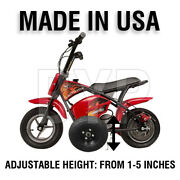 Motovox Mbxxse Kids Youth Training Wheels Only Motorcycle All Years