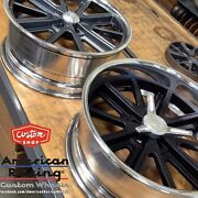 20x12 American Racing 407and039s Shelby Cobra Wheels Chevy Gm Ford Mustang Mopar