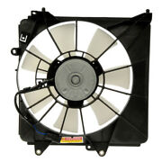 09-13 Honda Fit W/ Manual Transmission A/c Condenser Cooling Fan Motor Assembly