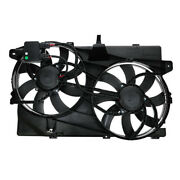 07 08 09 Edge Mkx With Tow Dual Radiator Ac Condenser Cooling Fan Motor Assembly