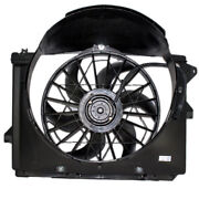 Tyc Crown Vic Grand Marquis Towncar Radiator Ac Condenser Cooling Fan Motor Assy
