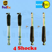 Bilstein B8 5125/5100 6 Front And 3-4 Rear Lift Shocks For Chevy K20 75-86 Kit 4