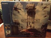Playstation 4 Star Wars Battlefront Empty Box 500 Gb Box Only Ps4 Limited Ed
