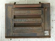 Vintage Early 1980and039s Vermont Castings Vigilant Wood Stove Outer Back