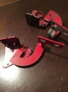 1963 Plymouth Valiant Parts Interior Dashboard Glove Box Red Hinges