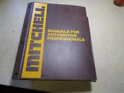 Mitchell 1987-89 Air Conditioning Heating Service And Repair Domestic Car Truck Va