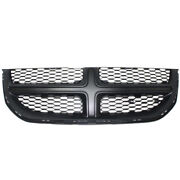 Capa 11-15 Grand Caravan Front Grill Grille Black Shell And Insert 68100689ac