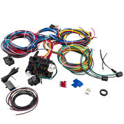 Wiring Harness Kit F21 Circuit 17 Fuses Extra Long Wires Column Connectors