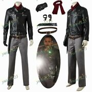 The Walking Dead Vol.8 Negan Cosplay Costume Comic Con Menand039s Outfit