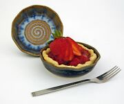 """BILL CAMPBELL Art Pottery  Mini Sweet Treat 5 1/2""""  2/3 Cup  SET of 2 Pieces !"""