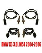 Upstream And Downstream O2 Sensors For Bmw X3 3.0l With A/t 03-06 Eng Code M54